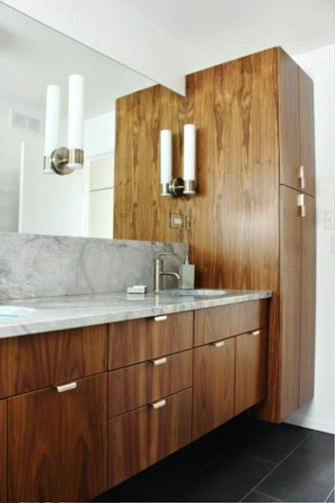 Modern Bathroom Linen Cabinets