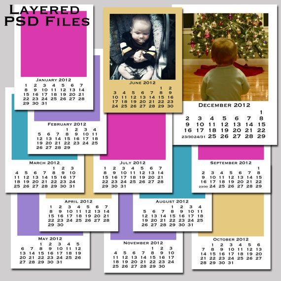 photo calendar inserts journal cards for project life would make a