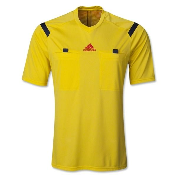 Adidas Referee 14 Short Sleeve Yellow Jersey Model D82287 Only 49 49 Referee Jersey Soccer Referee