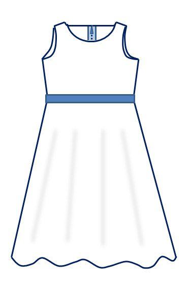 9ad1f3c090987 Voici une version simple de la robe-qui-tourne sans manche