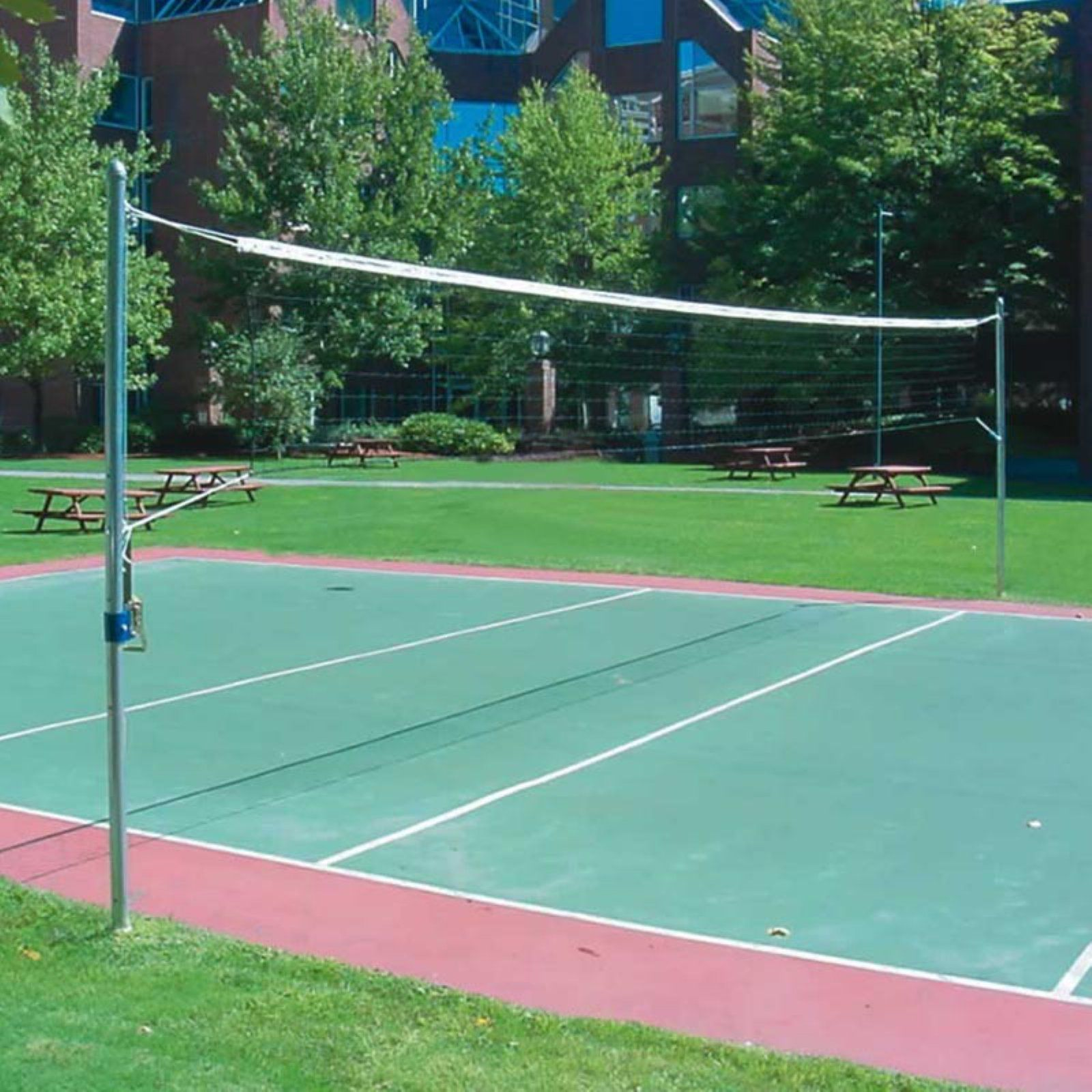 Jaypro Recreational Outdoor Volleyball System Outdoor Volleyball Sand Volleyball Court