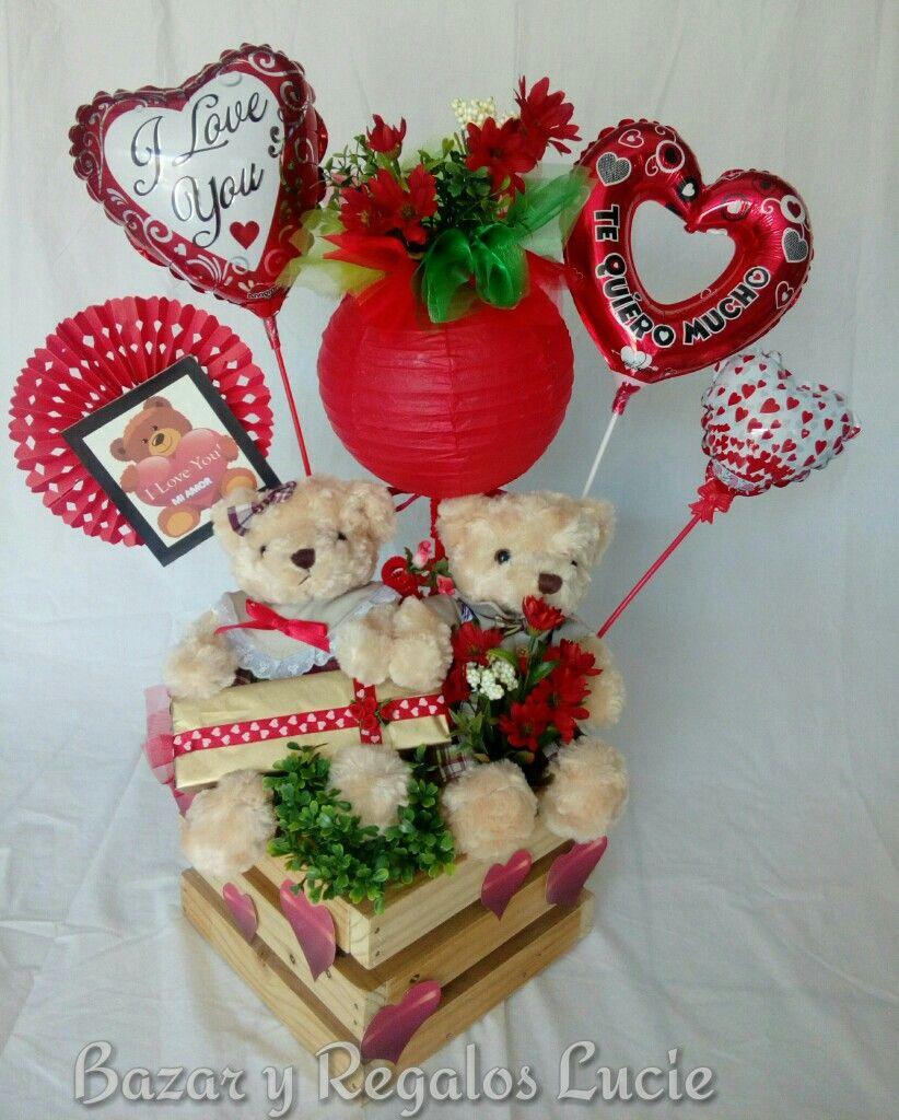 Pin De Nydia Mendoza En Dtallitos Arreglos De Peluches Bricolaje Del Día De San Valentín Manualidades