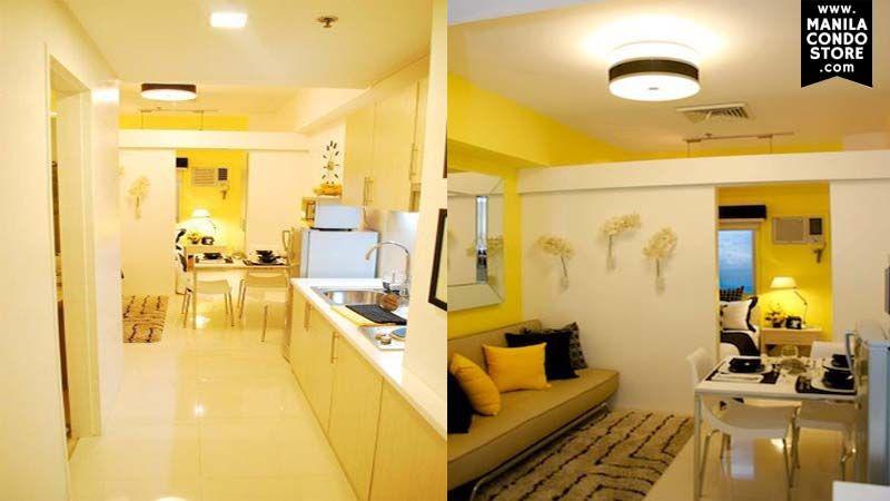 Modern 23 Sqm Condo Interior Design Philippines Homyracks