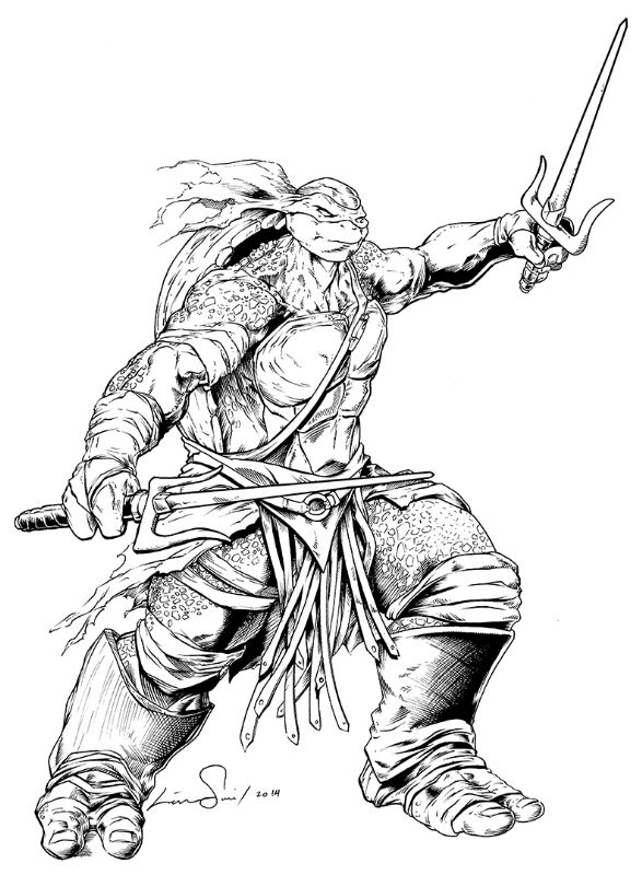 Click SHARE THIS STORY ON FACEBOOK | Ninja turtle coloring pages ... | 800x587