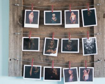 Four Wire Photo Display by DesignsbyMJL on Etsy