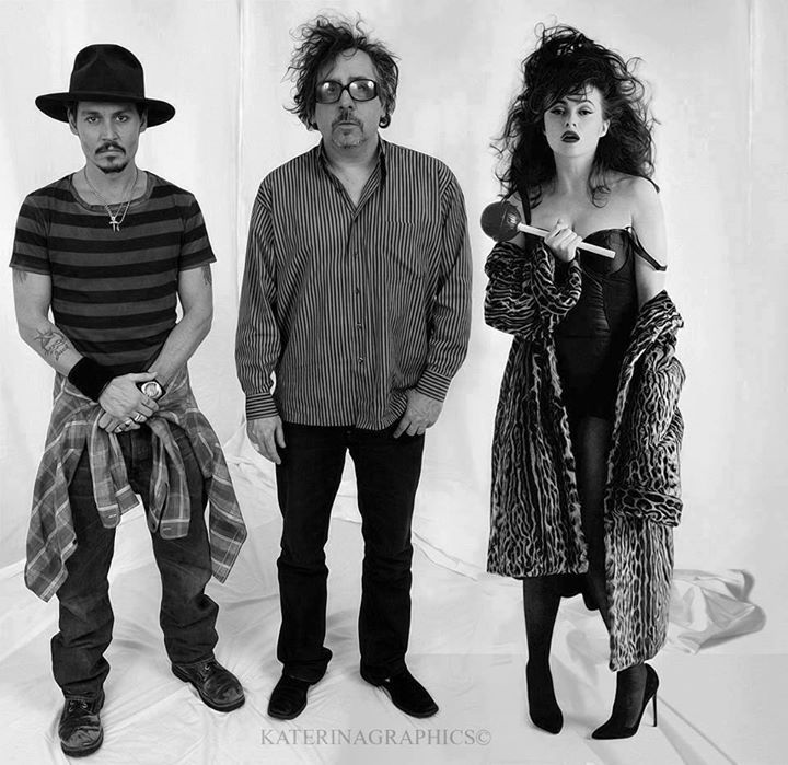 Johnny, Tim and Helena