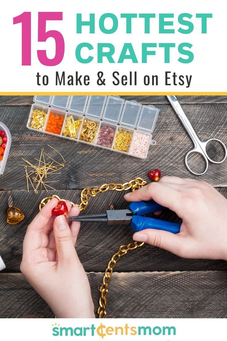 Hot craft ideas to sell on etsy smartcentsmom in 2020