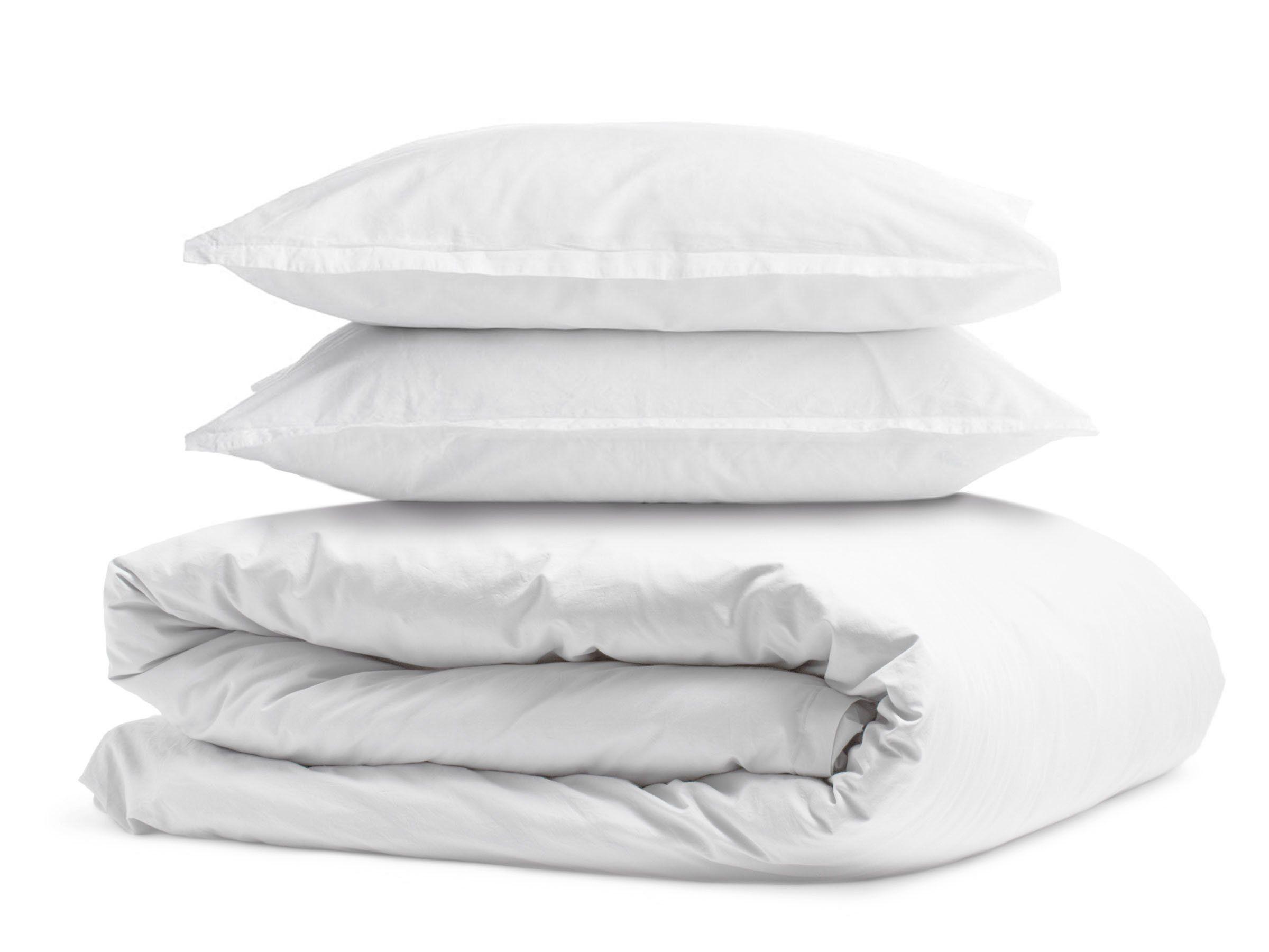 White Cal King Duvet Cover Set Soft Brushed Comforter Cover W//Pillow Sham