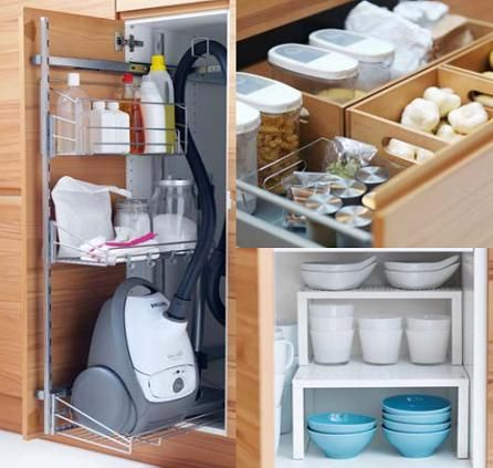 Organizadores para los cajones y armarios cozy at home - Armarios de cocina antiguos ...