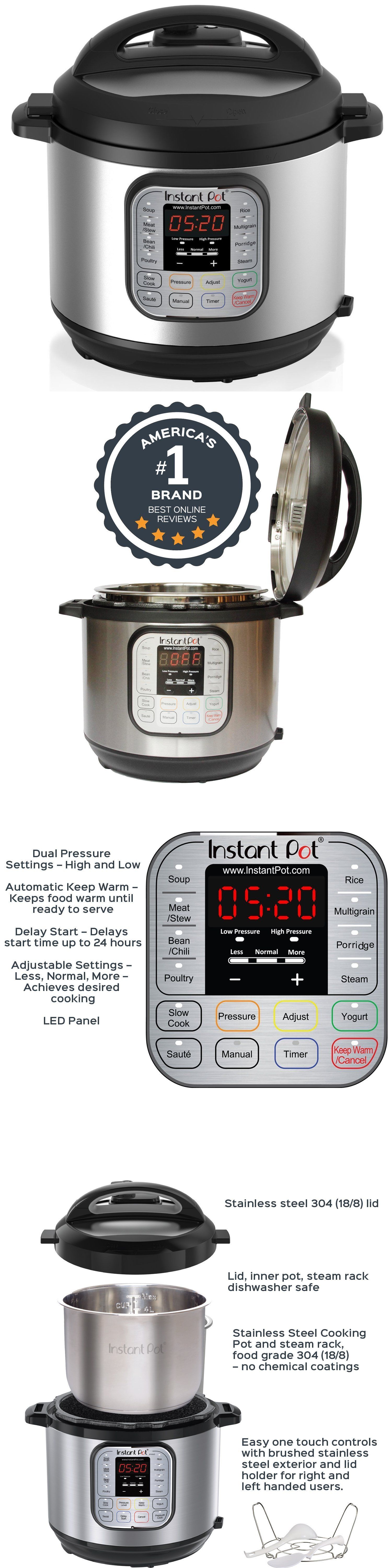 Small kitchen appliances instant pot ipduo v programmable
