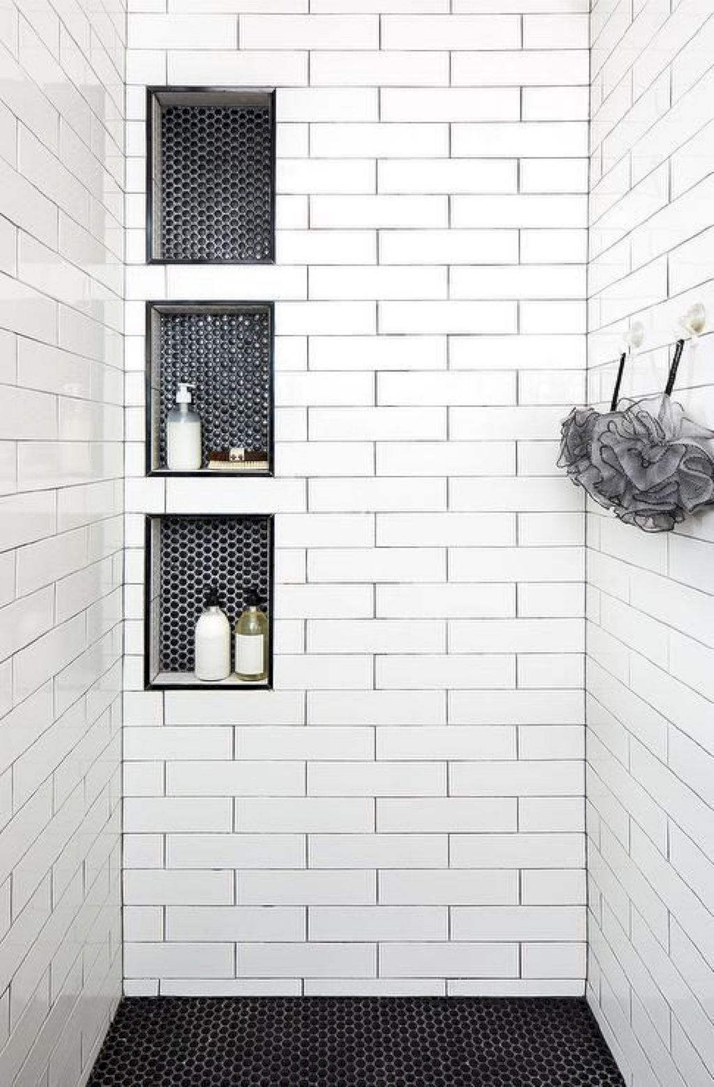 Floor And Shower Cubby Variation From Tile Works Well With The 2