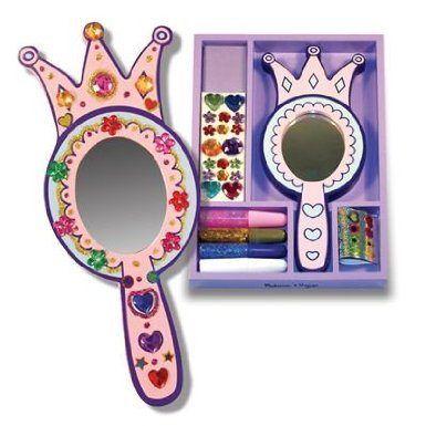 Espelho de princesa para customizar da marca americana Melissa and Doug