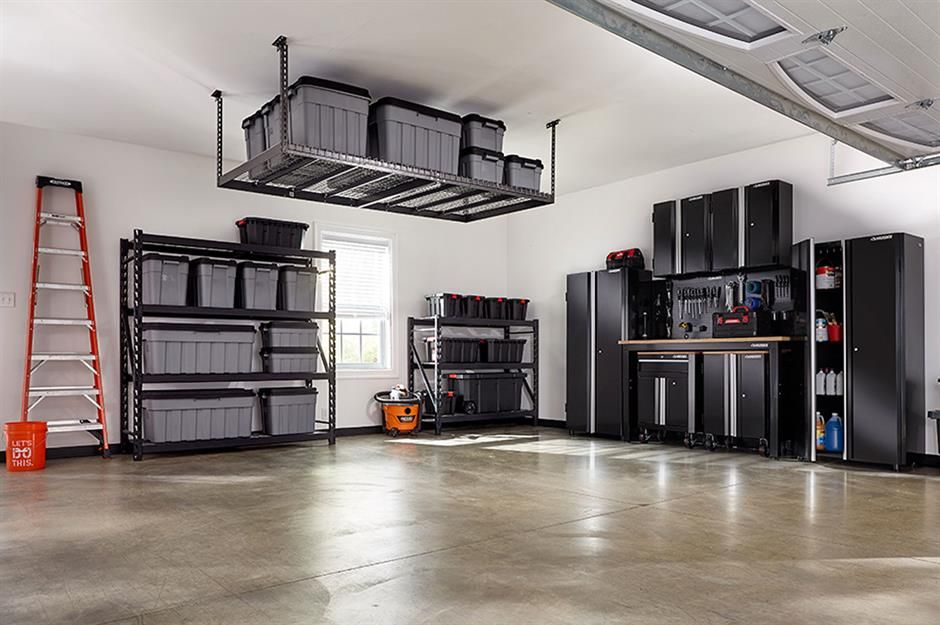 100 Amazing Storage Hacks You Have To See Loveproperty Com In 2021 Garage Storage Systems Space Saving Hacks Garage Shelving