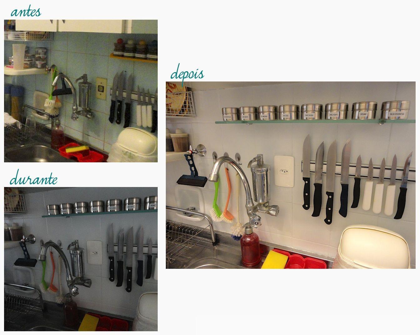 Blog: Central de Meninas: Cozinha: antes & depois