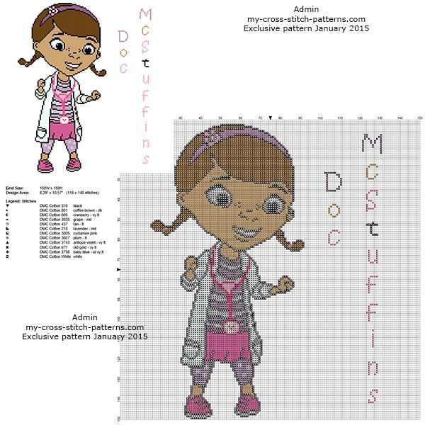 Dottie - Disney Doc McStuffins free pattern | disney | Pinterest ...