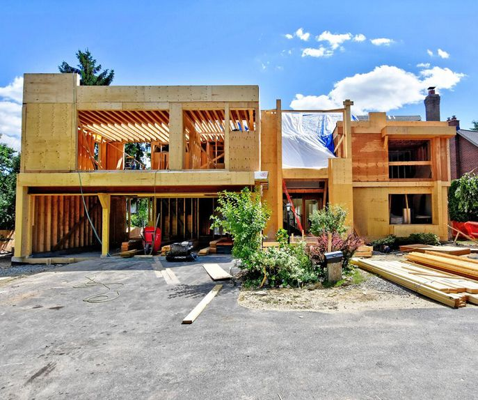 Custom Home Designs Toronto: Progress On Our Modern Addition In Our