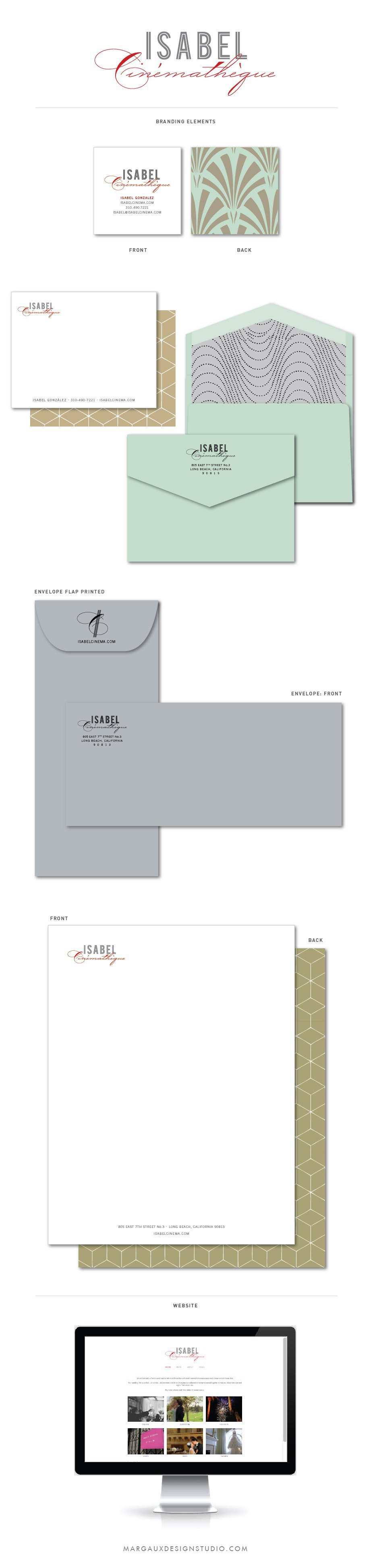 Wedding professional branding and identity with marketing collateral wedding professional branding and identity with marketing collateral note cards envelopes business cards double sided letterhead and website design reheart Images