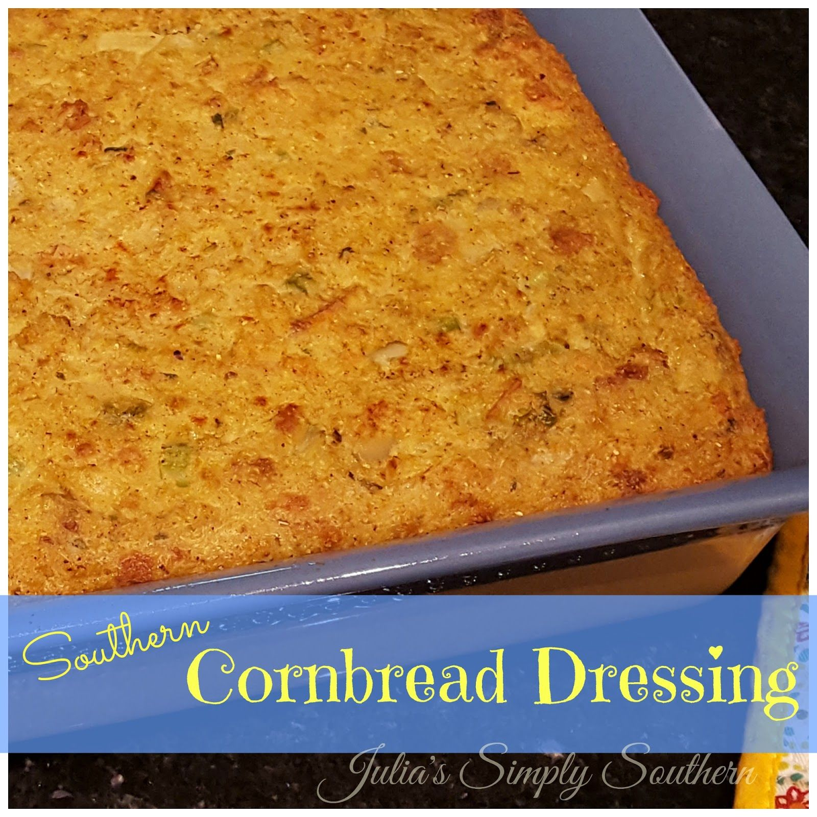 Southern Cornbread Dressing, Stuffing, Dressing, Thanksgiving, Christmas, Traditional, Southern Cooking, Turkey, stuffing, Awesome, Recipe, Traditional #cornbreaddressing
