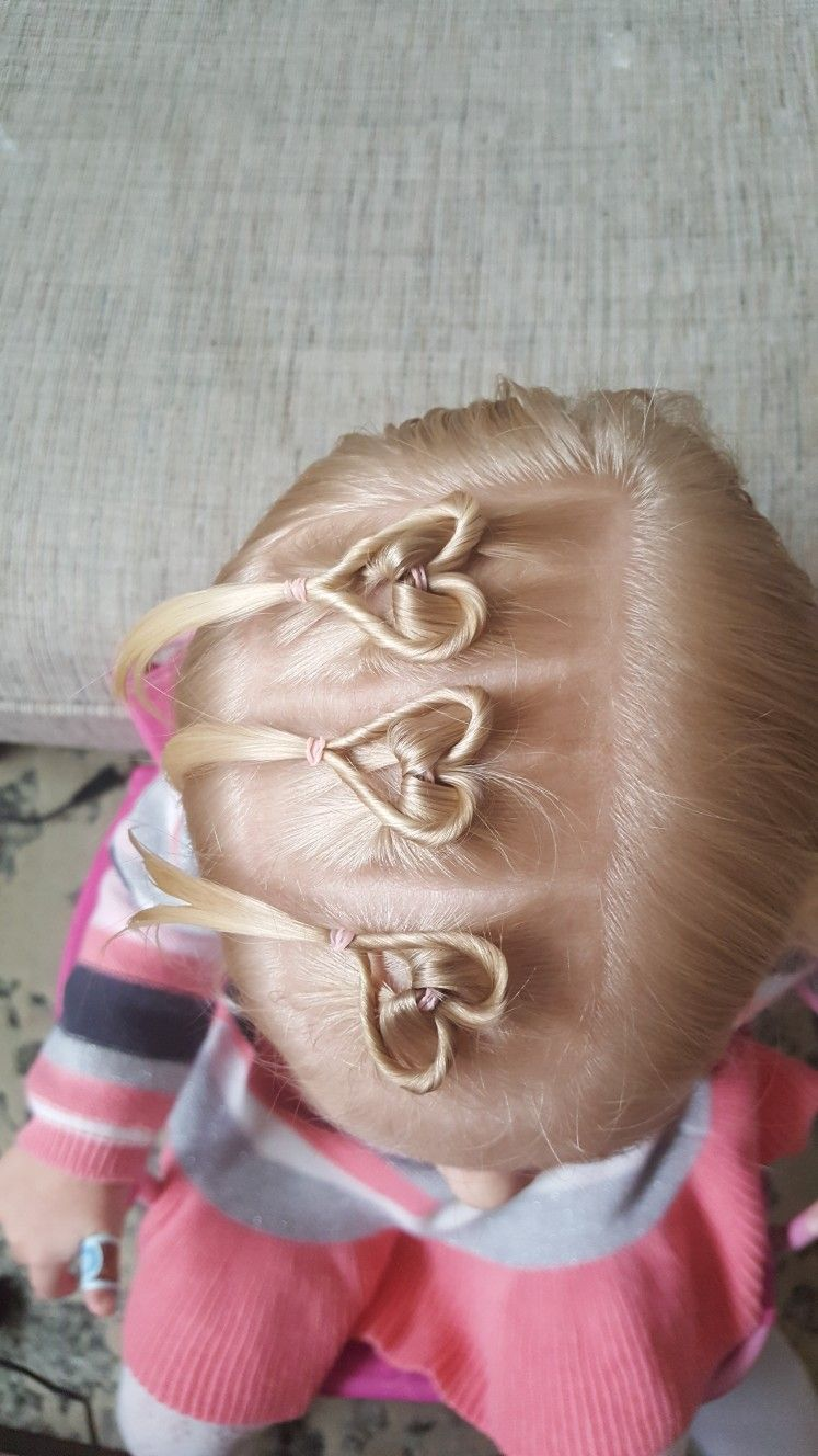 Pin by chloé mazurek on hair pinterest heart hair easy and hair