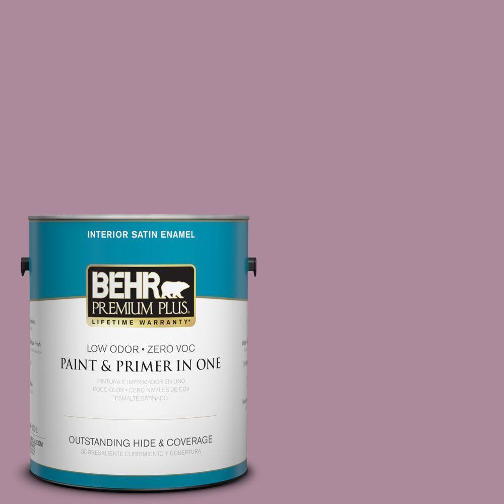 BEHR Premium Plus 1-gal. #S120-5 Reserve Satin Enamel Interior Paint