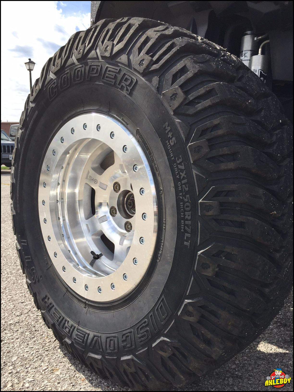 "Lease A Jeep Wrangler >> atx Chamber Pro II series true beadlock wheels on 37"" Cooper STT tires"