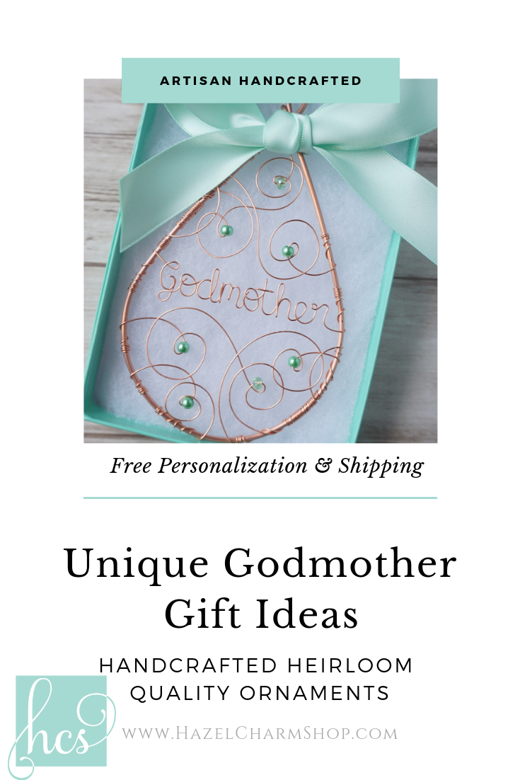 Godmother Keepsake Godmother Gifts Gifts Handmade Gifts