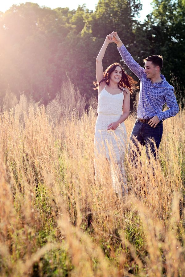 Fill your engagement session with joy!   Charlotte wedding, Charlotte wedding vendors, engagement, engagement session, NC wedding, NC wedding vendors   Photo by Catrina Earls Photography