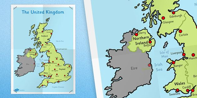 Ks1 uk map twinkl geography and habitat pinterest geography ks1 uk map twinkl gumiabroncs Choice Image