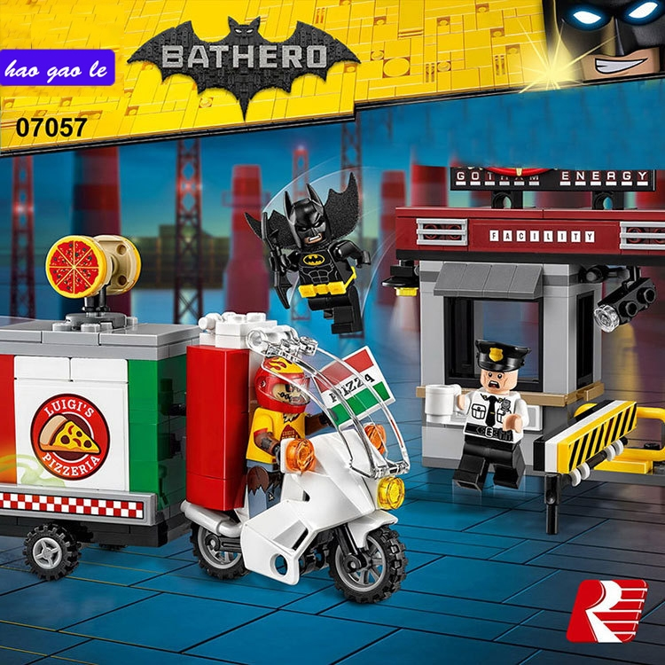 11.38$  Buy here - http://aliw51.shopchina.info/go.php?t=32799296147 - 204pcs/Set  07057 Genuine Batman Movie Series The Scarecrow Pizza Delivery Car Set 70910 Building Blocks Bricks Toys 11.38$ #shopstyle