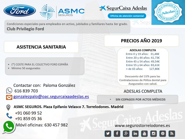 Adeslas Seguro Medico Madrid