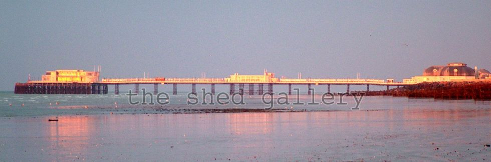 Worthing Pier Panorama - Photography by Mark Bowden - The Shed Gallery