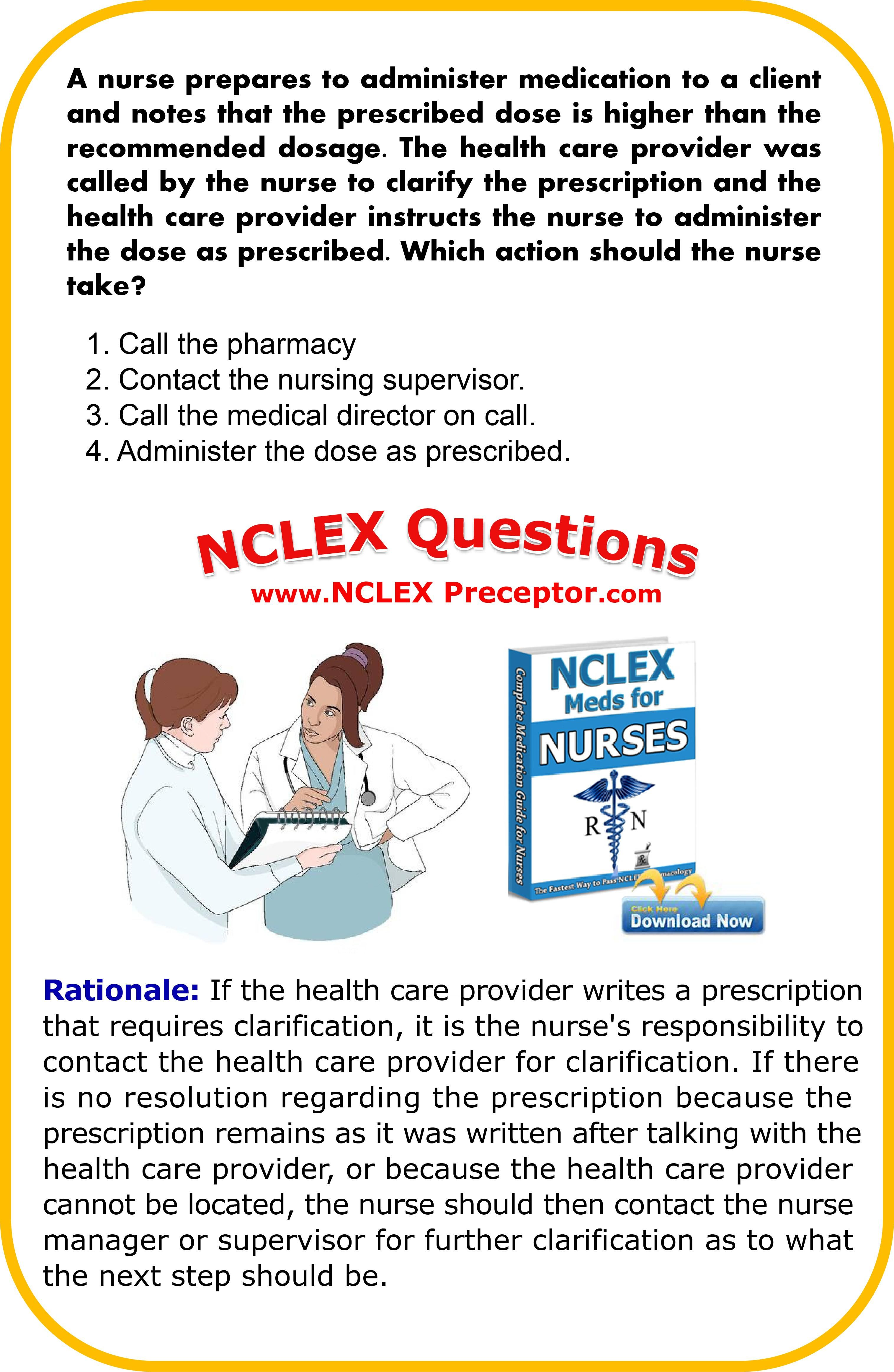 Study FREE NCLEX review questions to pass NCLEX RN exam. #NCLEXCoreMeasures