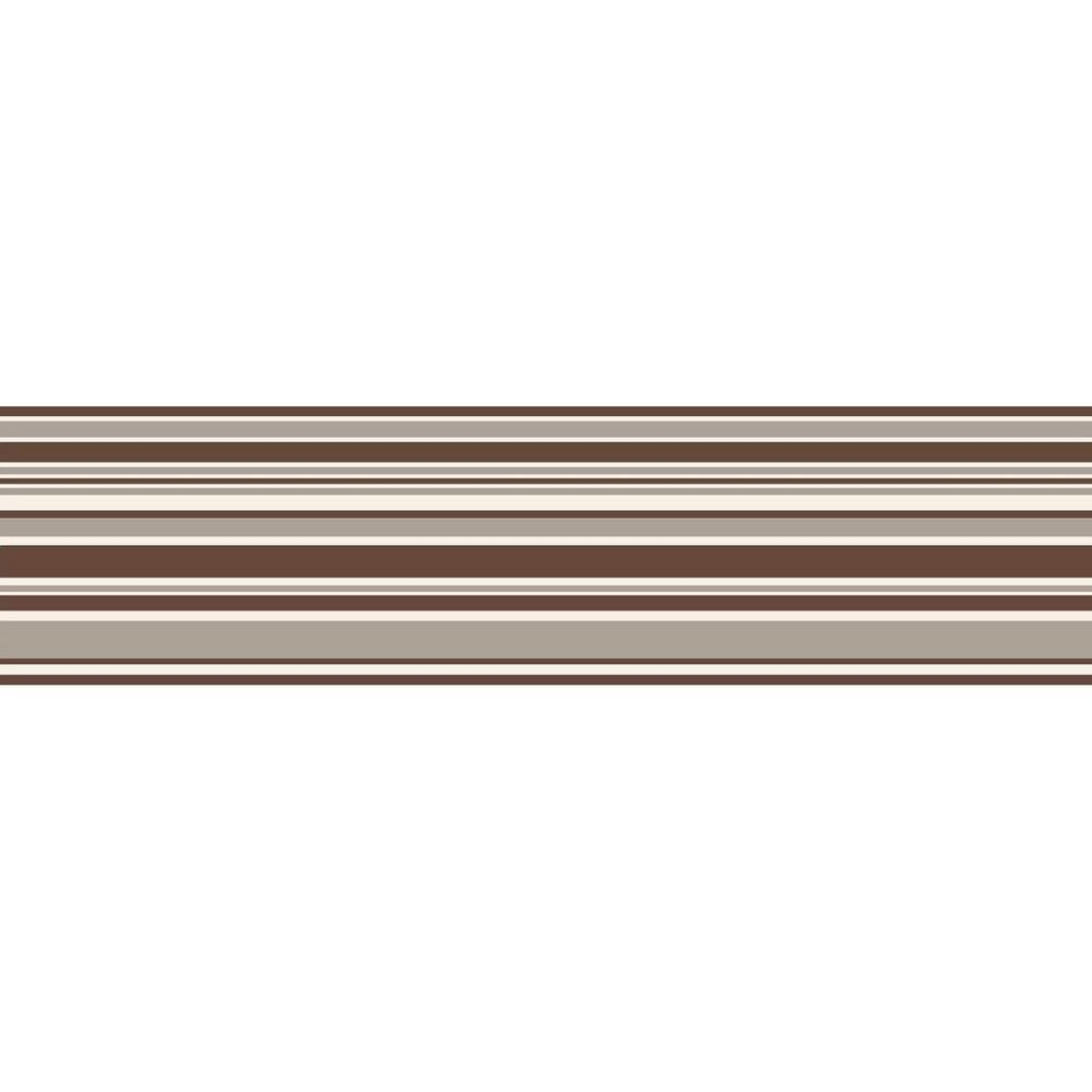 Brewster Horizontal Stripe Peel and Stick Wallpaper Border