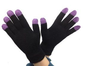 iTouch Touchscreen Gloves 5 Finger iPhone Blackberry Galaxy Nexus Compatible (Purple) by iTouch. $9.99. Highly appealing colors. Low Price. Can be worn under gloves to be used when necessary. Lightweight and Easy to Store. All five fingers are conductive with touch screen devices. In 2012, iTouch was one of the biggest names in touchscreen gloves. In 2013, we are looking to be the biggest. Our gloves were showcased on CNN and all over the media, with even more e...
