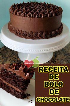As 5 Receitas De Bolo De Chocolate Com Imagens Bolo De