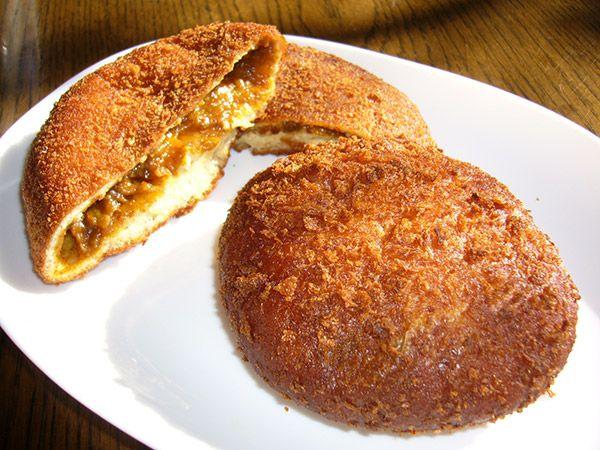 Curry Bun Curry Bread Food Curry Buns