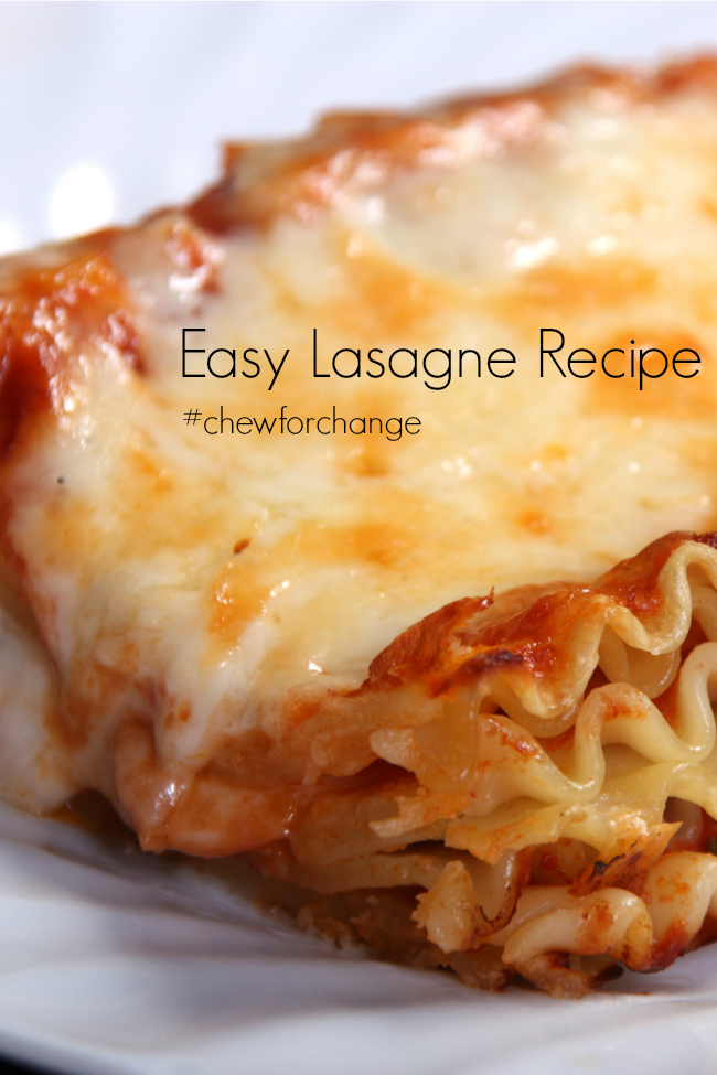 Easy Lasagna Recipe So Quick And Delicious Easy Lasagna