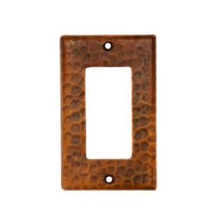 Check out the Premier Copper SR1 Copper Single Ground Fault/Rocker GFI Switchplate Cover