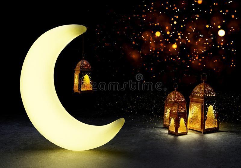 Ramadan Kareem Lanterns 3d Rendering Ramadan Kareem Beautiful Greeting Card Wi Ad Rendering Beautiful Greeting Cards Traditional Lanterns Ramadan Gifts