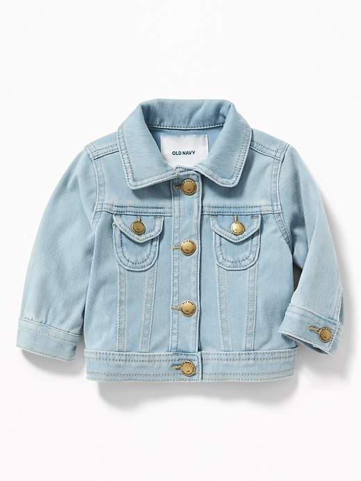 b73ab688afe9 Old Navy Babies  24 7 Denim Jacket Light Wash Regular Size 6-12 M in ...