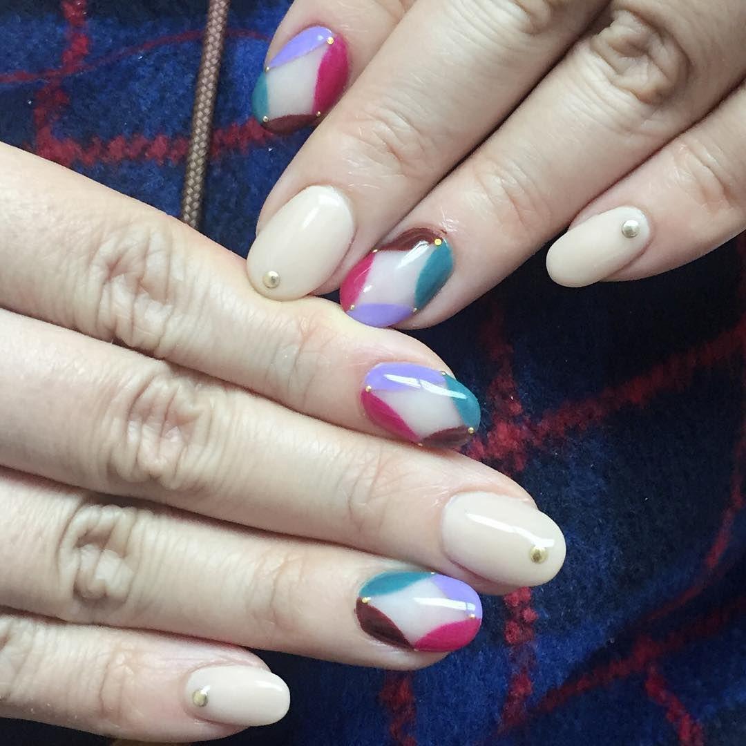 More pics -- facebook:Yan Yc #nails #gelnails #nailsart #art ...