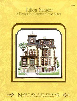 Fulton Mansion - Cross Stitch Pattern