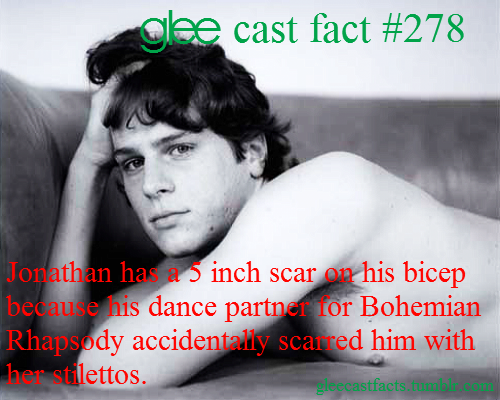 Photo of Glee cast fact… pretty interesting