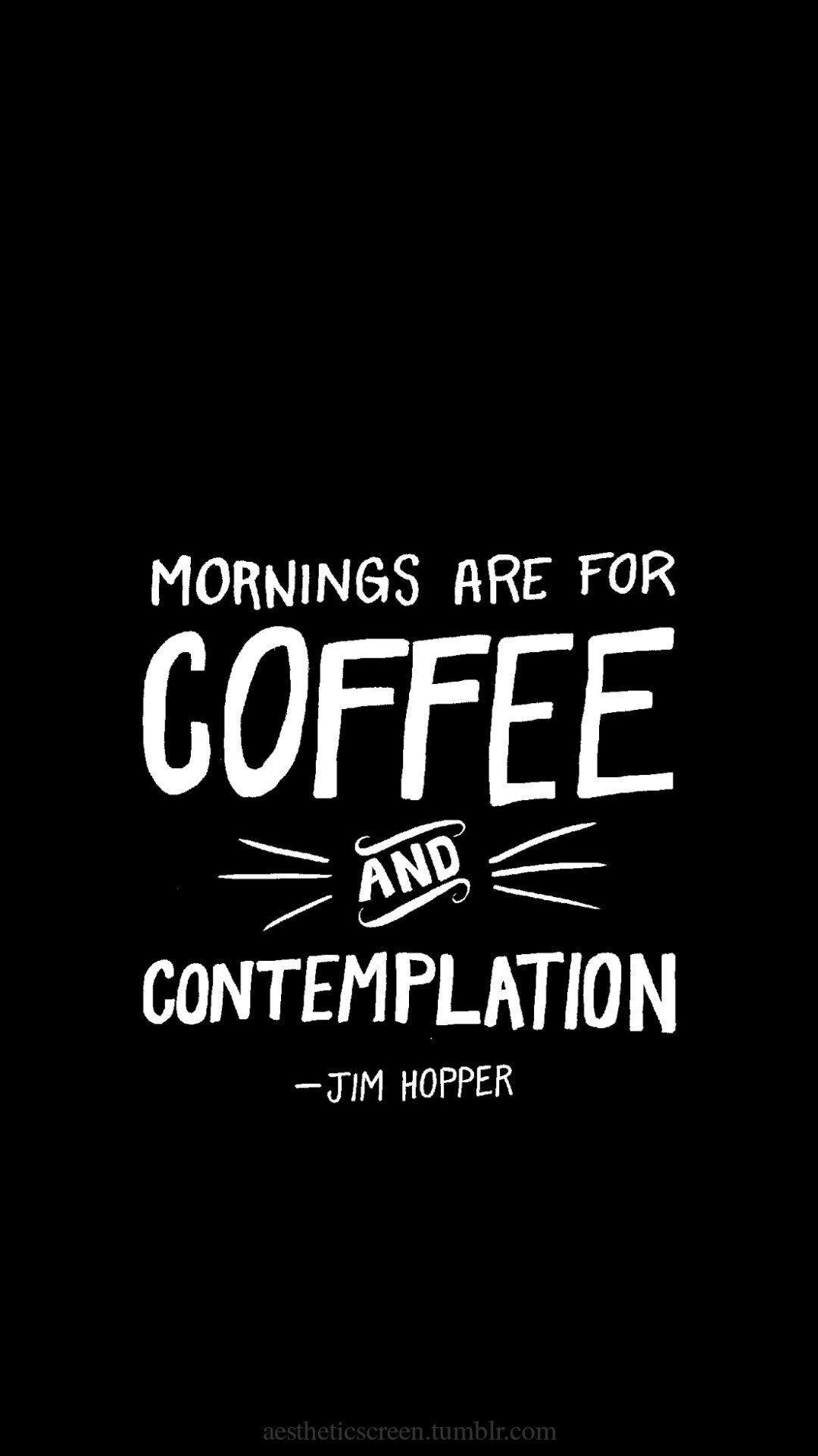 Jim Hopper Quote Stranger Things Wallpaper Wallpaper