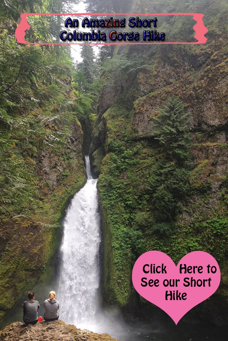 A beautiful hike in the Columbia River Gorge.  See more pics Here:  https://www.facebook.com/campingcookout  #columbiagorge #hiking #waterfalls  @campcookout
