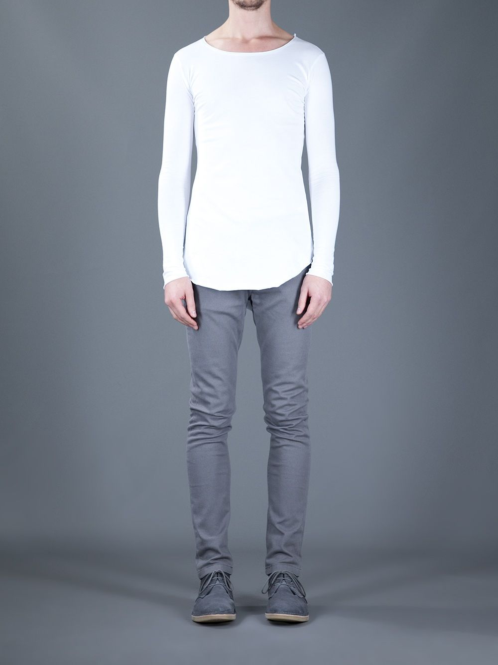 Thom Krom Scoop Neck T-Shirt - Paleari - farfetch.com