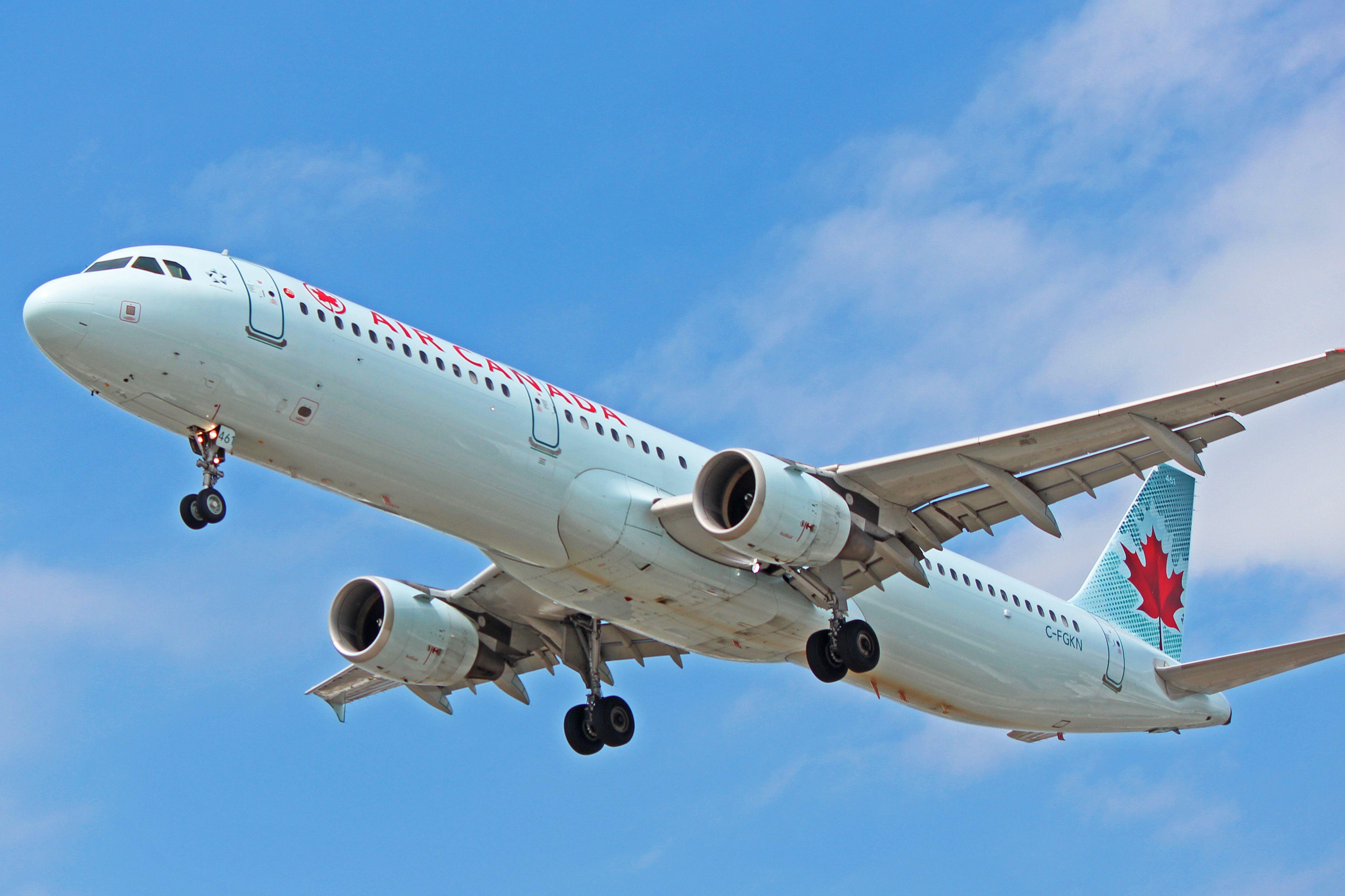 CFGKN Air Canada Airbus A321200 (Air France HandMe
