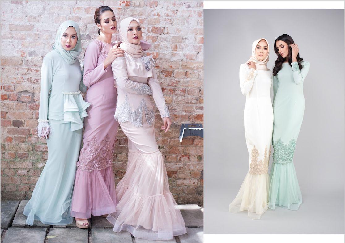 Model Baju Gamis Duyung Kombinasi Batik in 9  Wedding dresses