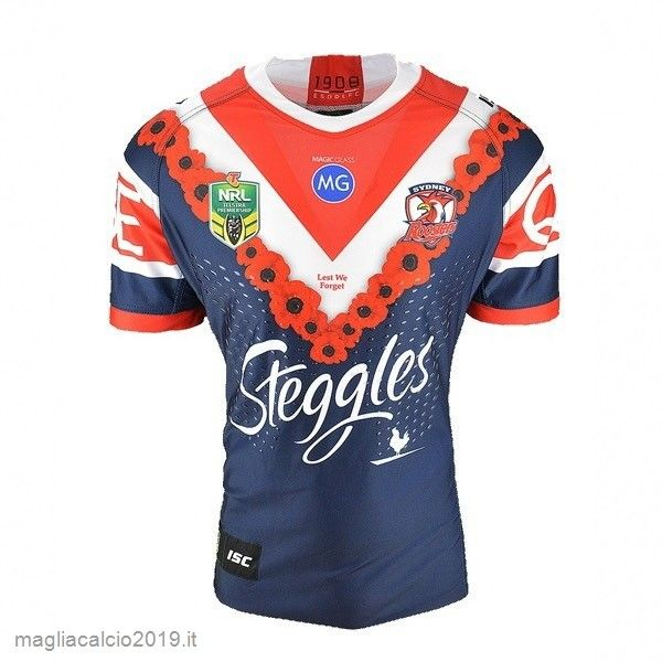 Completi Calcio In Offerta Isc Anzac Rugby Maglia Sydney Roosters ...