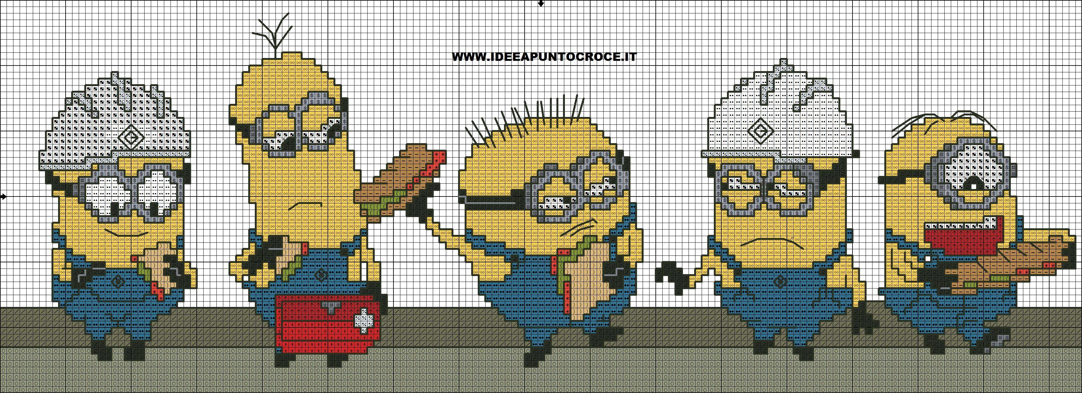 minions_cross_stitch_pattern_by_syra1974-d9drda4.jpg (3465×1260)